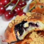 Jagodzianki – najlepsze bułki z jagodami