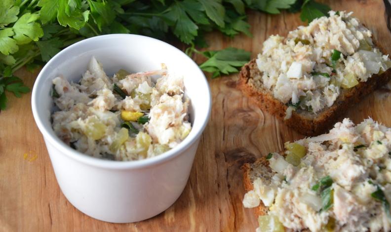 pasta z ryby wędzonej
