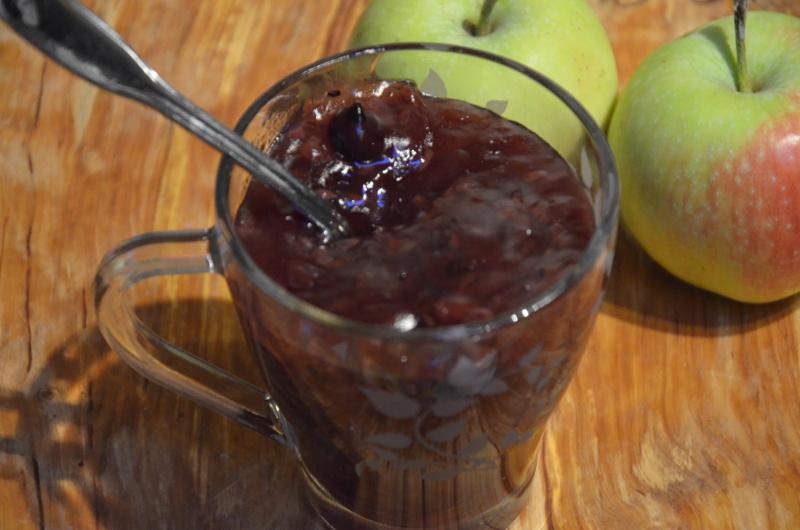 domowy kisiel z owocami