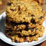 Ciasteczka owsiano-amarantusowe