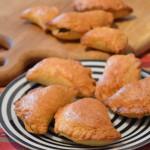 Pierożki pieczone z kapustą i grzybami