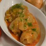 Gołąbki z mięsem i ryżem – po krakowsku