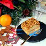 Orzechowiec – ciasto miodowe z orzechami