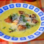 Zupa serowa z pulpecikami