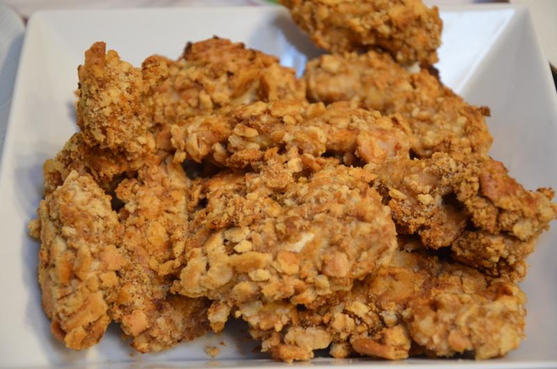 kurczak z panierce z krakersów