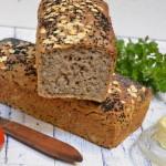 Chleb graham pszenno-żytni na zakwasie