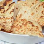 Naan –  indyjskie chlebki
