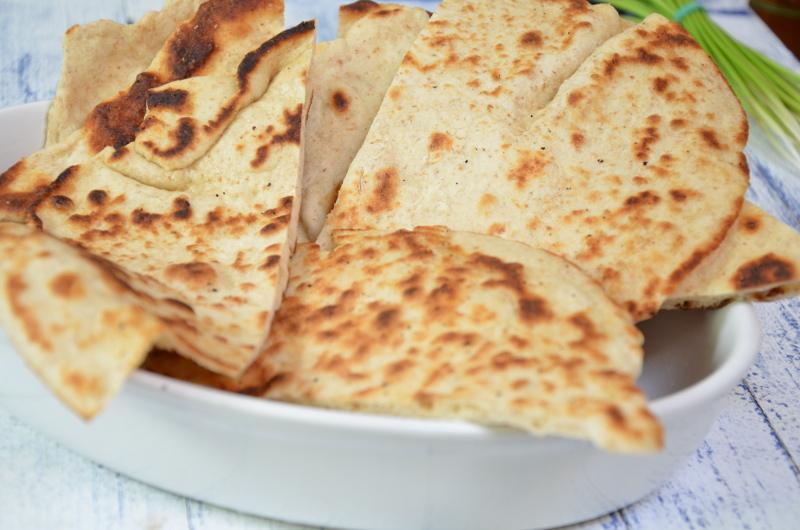 Naan Indyjskie Chlebki