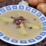 Warianka zupa łemkowska na kwasie z kapusty
