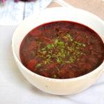 Zupa z botwinki – młodych buraczków