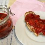 Dżem truskawkowy z chia, bez cukru