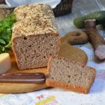 Prosty chleb na zakwasie żytni lub pszenny