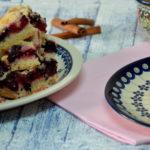 Proste ciasto drożdżowe z owocami