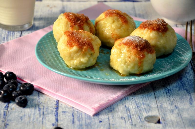 knedle ziemniaczano-serowe