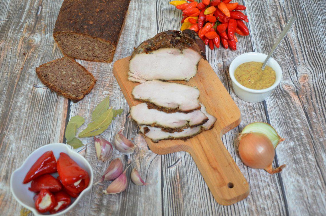 Marynowany pieczony schab – idealna domowa wędlinka lub mięsko na obiad