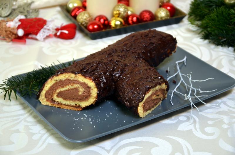 Bûche de Noël – Polano Bożonarodzeniowe