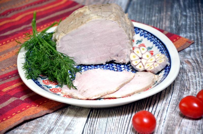 Schab na kanapkę gotowany 10 min