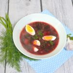Botwinka – zupa z młodych buraczków bez śmietany