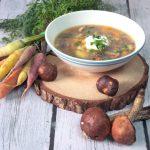 Zupa ze świeżych grzybów, zupa grzybowa