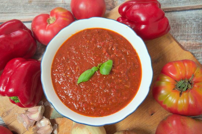 Sos cygański z pomidorów – ostry sos pomidorowy do słoika