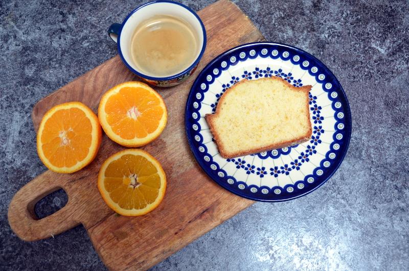 Przepis na puszystą babkę pomarańczową