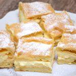 Karpatka – ciasto z kremem