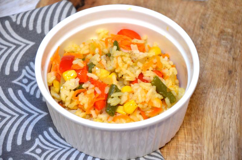 Ryż z dodatkiem warzyw