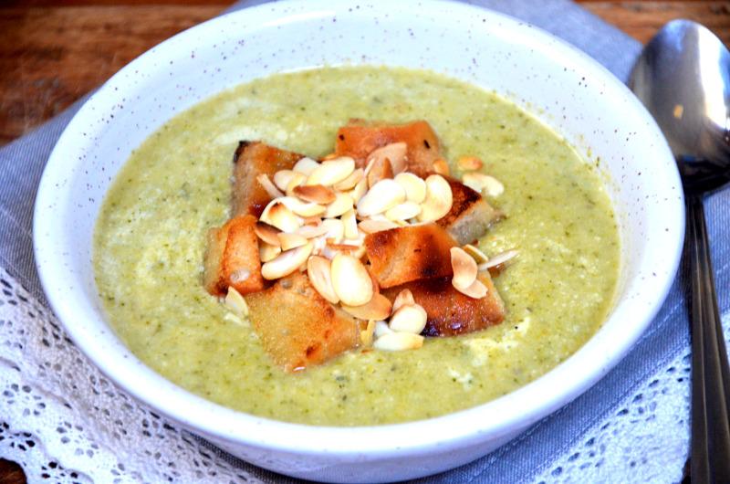 zupa z brokuła i pora